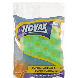 Банная губка NOVAX