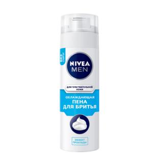 Пена для бритья NIVEA MEN Охлаждающая — 200 мл.