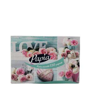 Салфетки вытяжные Papia (love) — 120 листов