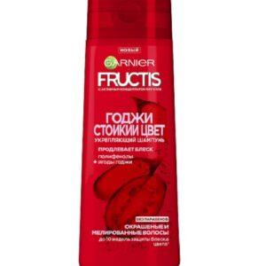Укрепляющий Шампунь Garnier Fructis Годжи Стойкий цвет — 400 мл.